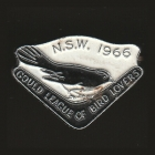 1966 Gould League of Bird Lovers NSW Member Badge Pin
