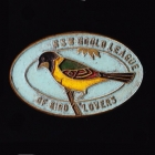 1958 Gould League of Bird Lovers NSW Member Badge Pin