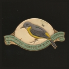 1949 Gould League of Bird Lovers NSW Member Badge Pin