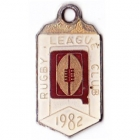 1982 Queensland Rugby League Club Member Badge