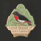 1947 Gould League of Bird Lovers NSW Member Badge Pin s