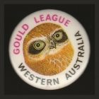 1987 Gould League WA Member Button Badge Pin