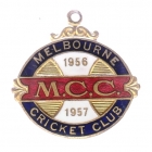 1956-57 Melbourne Cricket Club Member Badge