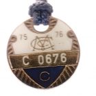 1976-77 Melbourne Cricket Club Country Member Badge