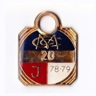 1978-79 Melbourne Cricket Club Junior Member Badge