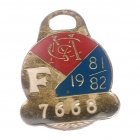 1981-82 Melbourne Cricket Club Full Member Badge