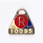 1982-83 Melbourne Cricket Club Restricted Member Badge