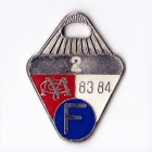 1983-84 Melbourne Cricket Club Full Member Badge No 2