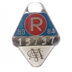 1983-84 Melbourne Cricket Club Restricted Member Badge