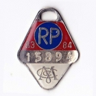 1983-84 Melbourne Cricket Club Restricted Provisional Member Badge