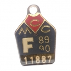 1989-90 Melbourne Cricket Club Full Member Badge