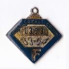 1963-64 Sydney Cricket Ground Member Badge
