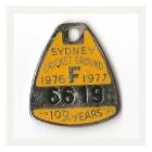 1976-77 Sydney Cricket Ground Member Badge