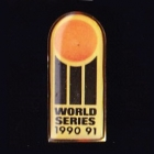 1990-91 World Series Cricket Tetley Pin Badge