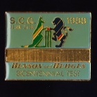 1988 Benson & Hedges Bicentenial Test SCG Pin Badge