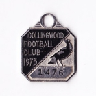 1973 Collingwood Magpies VFL Member Badge