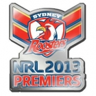 2013 Sydney Roosters NRL Premiers LE Pin Badge
