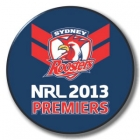 2013 Sydney Roosters NRL Premiers SS Button Badge