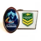 2013 Australia RLWC Trofe Pin Badge