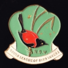 1952 Gould League of Bird Lovers NSW Member Badge Pin r