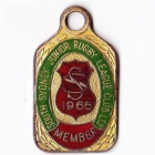 1966 South Sydney Juniors Leagues Club Member Badge
