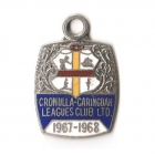 1967-68 Cronulla Caringbah Leagues Club Member Badge