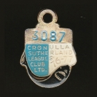 1976-77 Cronulla Sutherland Leagues Club Member Badge