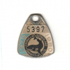 1979-80 Cronulla Sutherland Leagues Club Member Badge