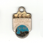 1981-82 Cronulla Sutherland Leagues Club Member Badge