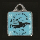 1986-87 Cronulla Sutherland Leagues Club Member Badge