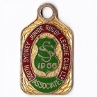 1966 South Sydney Juniors Leagues Club Associate Member Badge