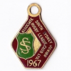 1967 South Sydney Juniors Leagues Club Associate Member Badge