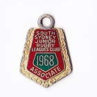 1968 South Sydney Juniors Leagues Club Associate Member Badge