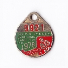 1978 South Sydney Juniors Leagues Club Associate Member Badge