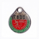 1980 South Sydney Juniors Leagues Club Associate Member Badge
