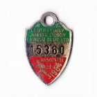 1984 South Sydney Juniors Leagues Club Associate Member Badge