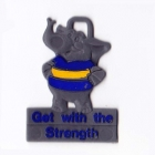 1960s Parramatta Eels NSWRL Commonwealth Bank Keyring Badge