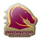 2014 Brisbane Broncos NRL Logo LE Pin Badge