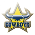 2014 North Queensland Cowboys NRL Logo LE Pin Badge