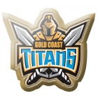 2014 Gold Coast Titans NRL Logo LE Pin Badge