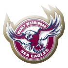 2014 Manly Warringah Sea Eagles NRL Logo LE Pin Badge