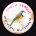 1980 Gould League WA Member Button Badge Pin
