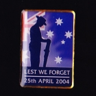 Anzac Day Butterfly Pin