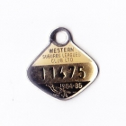 1984-85 Western Suburbs Leagues Club Associate Member Badge