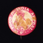 Comforts India Button Badge 22mm 6d