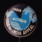 Comforts India Button Badge 33mm 1s