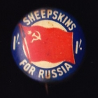 Comforts Russia Button Badge 33mm 1s