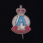 Anzac Day Stick Pin 20c