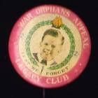 War Orphans Button Badge 33mm 2s