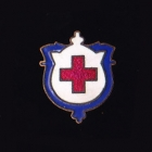 Red Cross Clasp Pin 10s